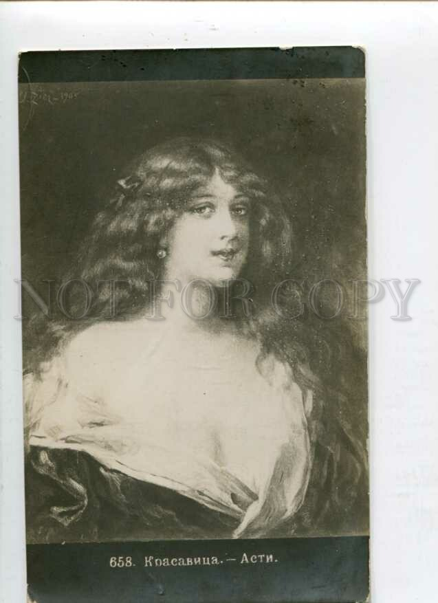 116200 BELLE Lady LONG HAIR by Angelo ASTI Vintage PHOTO ...